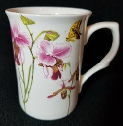 Stechcol Gracie Bone China Flowers & Butterflies Mug NEW Fas