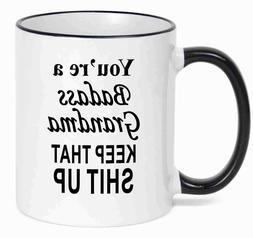 GRANDMA Gift,  Funny Coffee Mug  Mothers day, Christmas Gift