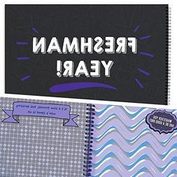 Great Gift for Guys - Freshman Year! Scrapbook Present, Moti