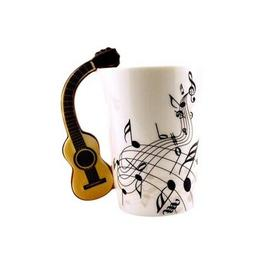 Guitar Music Ceramic china Cup Coffee Milk Tea Mug Cups Moth