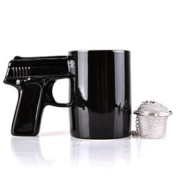 UCEC Gun Mug - Ceramic - Used for Coffee, Tea - With Gift