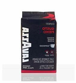 Lavazza Gusto Pieno Whole Bean Coffee Intense Espresso, Medi