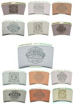 H&H Bamboo Eco Travel Mug Pre-Personalised Heat Sleeve - Cho