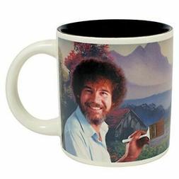 Heat Change Bob Ross Art Mug - Teacher Gift Coffee Cup - Une
