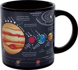 Heat Changing Planet Mug - Add Coffee or Tea and the Solar S