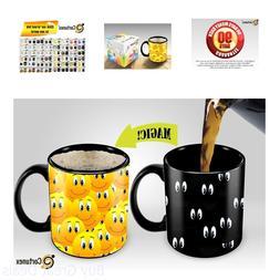Heat Sensitive Mug | Color Changing Coffee Mug | Funny Coffe