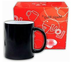 Heat Sensitive, Color Changing Coffee Cup, Thermographic/The