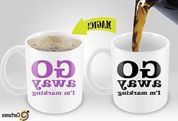 Heat Sensitive Mug | Color Changing Coffee Mug With Sayings
