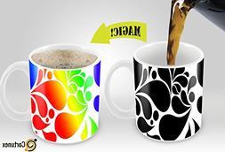 Cortunex. Morning Coffee Mug. 11 Ounce. Changing Color Mug F
