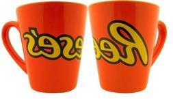 Hershey's Reese's Candy Coffee Mug, Set of 2