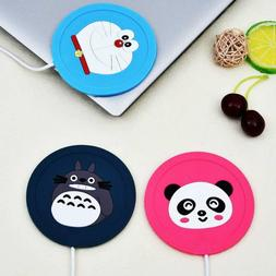 HOT 5V USB Cute Silicone Heat <font><b>Warmer</b></font> Hea