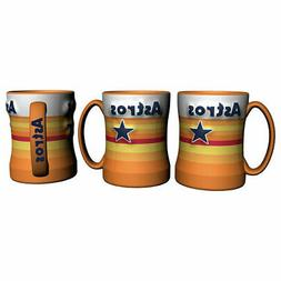 Houston Astros Retro Boelter MLB Relief Coffee Mug 14oz FREE