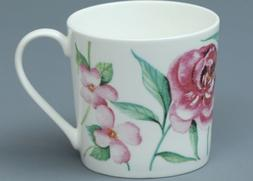 ROSE of ENGLAND HUMMINGBIRD & FLOWERS  Fine Bone China DORSE