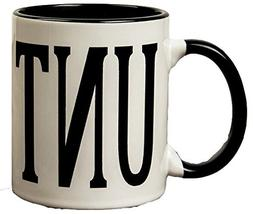 Adult Humour Rude Gift Cup Ceramic UNT CUNT With Black Handl