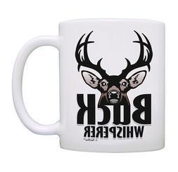 Hunting Mug Buck Whisperer Deer Hunting Mugs for Men Bow Cof