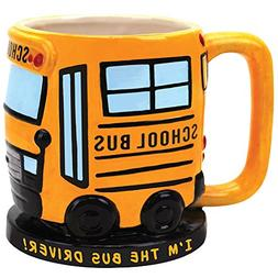I'm The School Bus Driver Sculpted Ceramic Coffee Mug - Grea