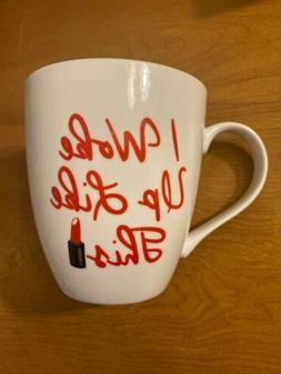 "Pfaltzgraff ""I Woke Up Like This"" Flawless 18oz Coffee Mug L"