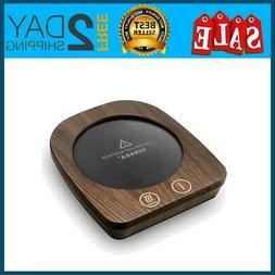 VOBAGA Imitation Wood Grain Coffee Cup & Mug Warmer For Desk