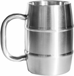 Insulated Beer Mug - Keeps Beer Ice Cold! Perfect Gift for B