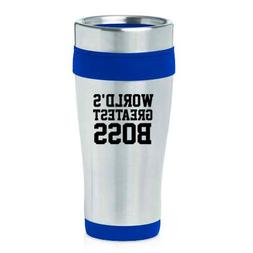 16oz Insulated Stainless Steel Travel Mug World's Greatest B