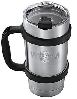 Insulated Tumbler Cup Travel Mug - Premium 20 ounces Set w/