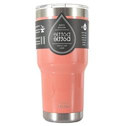Bottlebottle 30 oz Insulated Tumbler Cup Stainless Steel Tra