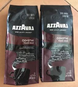 LavAzza Intenso Dark Roast Ground Coffee 12oz Bags Lot Of 2
