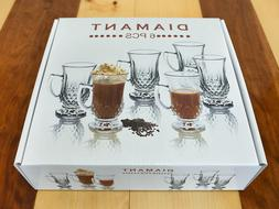 Irish Coffee Glass Mug - Set of 6