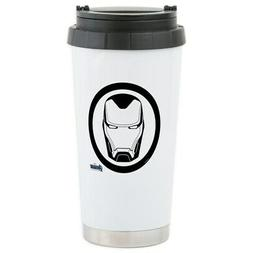CafePress Iron Man Logo Stainless Steel Travel Mug