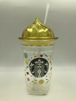 Starbucks JAPAN Limited 12 oz Dark Yellow Plastic Tumbler Sp