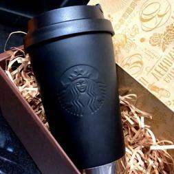 Japan Starbucks Stainless steel ToGo logo tumbler matte blac