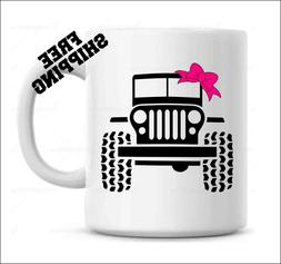 Jeep Girl, Funny coffee mug, Gift for Jeep Girl
