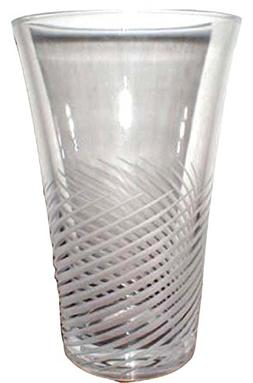 JG Durand Cristal SPIRALE MATE - MONTELIMAR Cut Lead Crystal