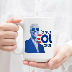 Joe Biden For President 2020 Cup O' JO Democrat Coffee Ceram