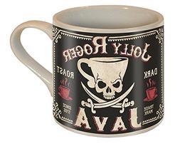 Jolly Roger Java Skull and Swords Coffee Mug - Ceramic Mug b