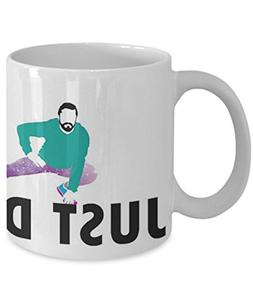 Just Do It Shia Labeouf - Coffee Mug, Tea Cup, Funny, Quote,