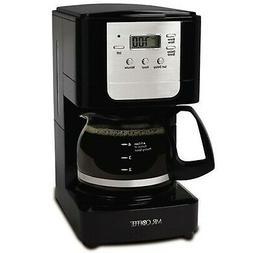 Mr. Coffee JWX3 5-Cup Programmable Coffeemaker, Black