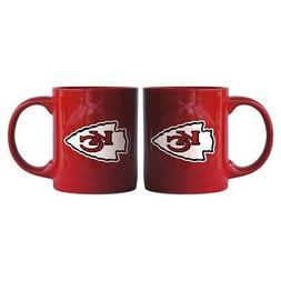 Kansas City Chiefs Boelter NFL Rally Coffee Mug 11oz FREE SH