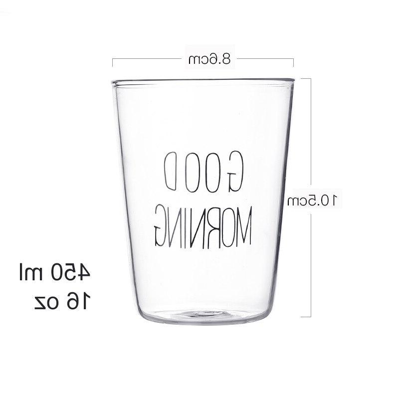 1 pcs Glass Breakfast <font><b>Cup</b></font> Milk Yogurt Good Gifts 450ml,Glass <font><b>coffee</b></font>