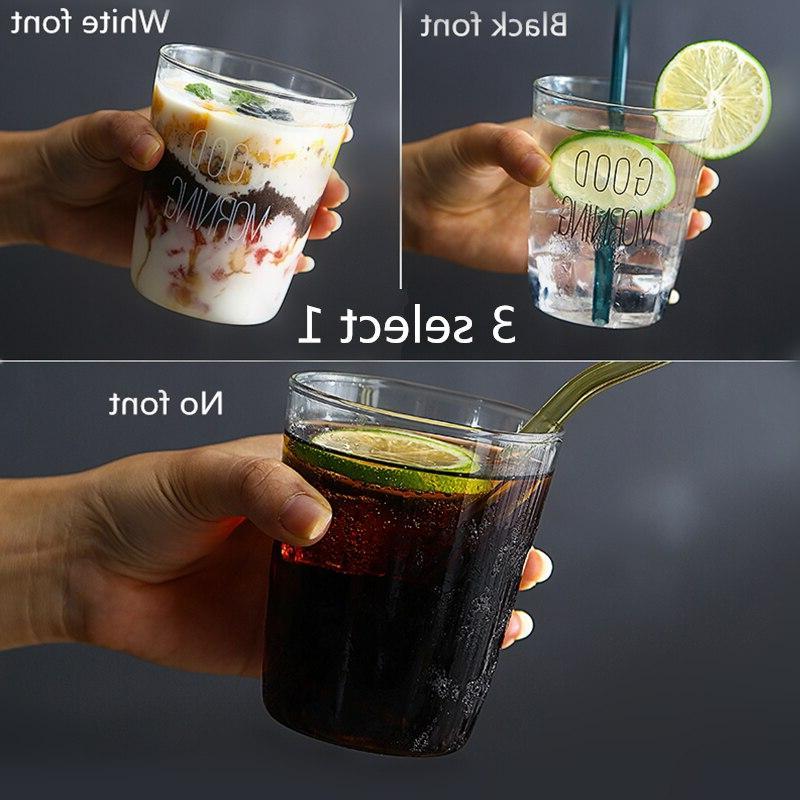 1 pcs Lovely Breakfast Tea Milk Yogurt 450ml,Glass <font><b>coffee</b></font> <font><b>mug</b></font> travel <font><b>cup</b></font>