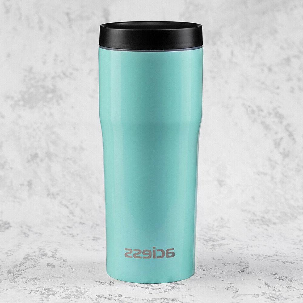 16 oz coffee travel mug for car