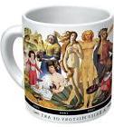1658 Brief History of Art Mug Coffee Cup da Vinci Picasso La