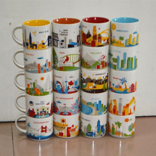 14oz Coffee Mug You Are Here Collection City Collector Cups