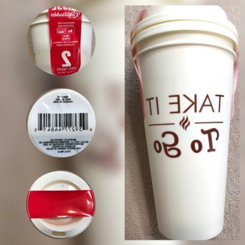 Lots Cups 17oz Travel Coffee Mug Dishwasher And Microwave Sa