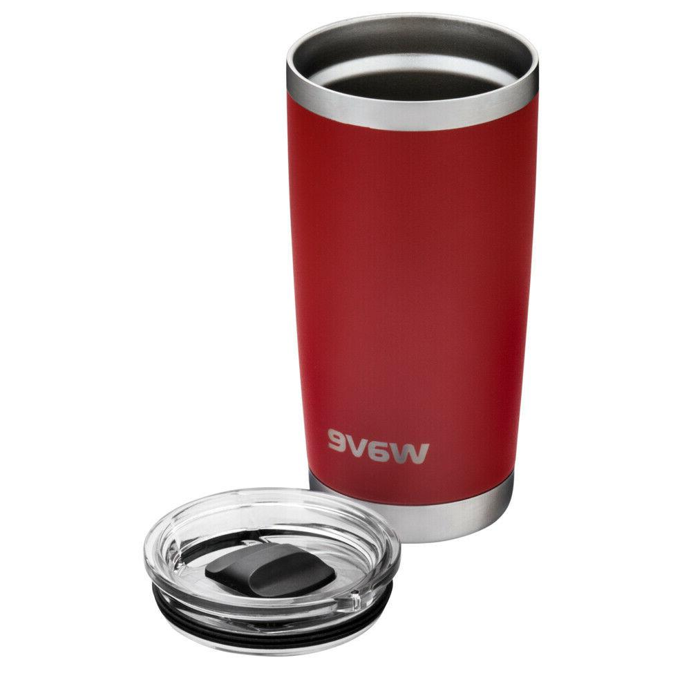 20 Tumbler w magnetic lid - Insulated Cup Steel coffee