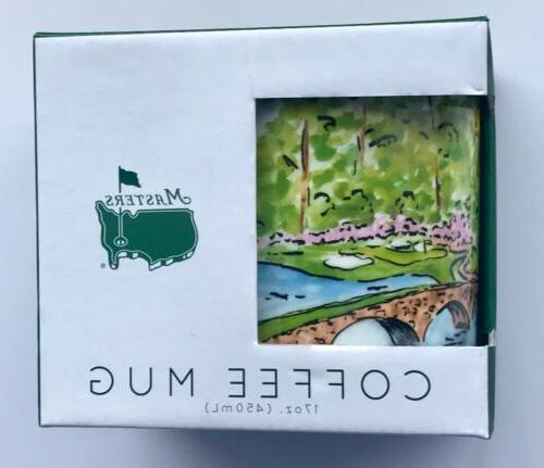 2019 Masters golf coffee mug amen corner tiger woods augusta