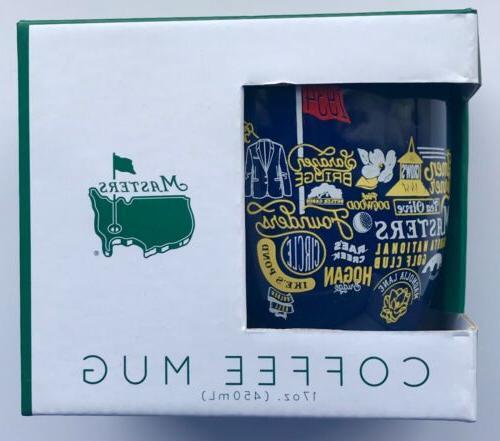 2019 Masters golf coffee mug augusta national collage pga ne