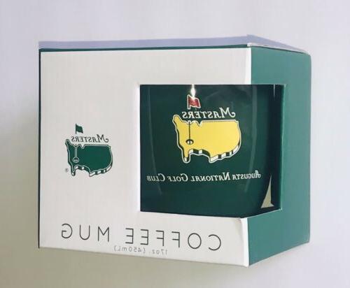 2019 Masters golf coffee mug green augusta national tiger wo