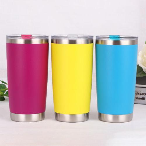 20oz/600ml Stainless Tumbler Coffee Mug Cup Flask