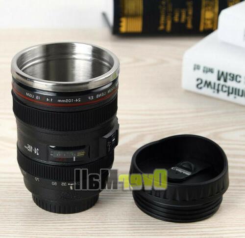 24-105 Lens Coffee Mug Photo Stainless Steel Travel